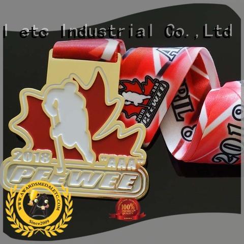 low-price custom sports medals black global market for award