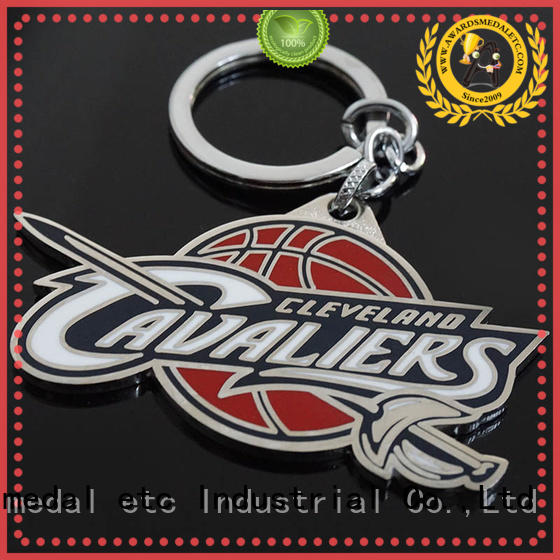 Awards Medal latest custom metal keychains win-win cooperation for gift