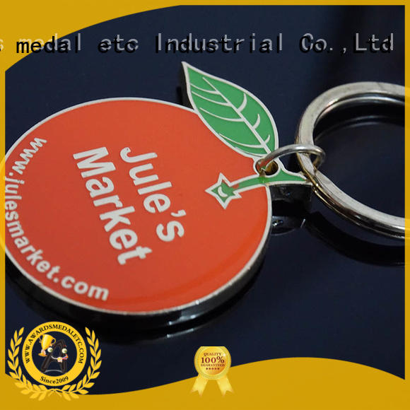 Awards Medal sports metal key chains win-win cooperation for wholesale