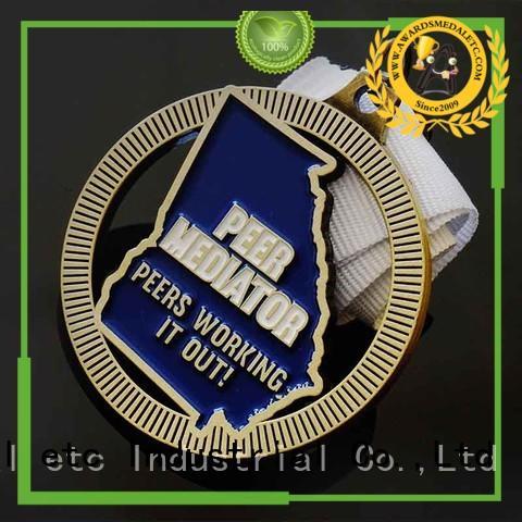 originality custom medallions gold overseas market for events