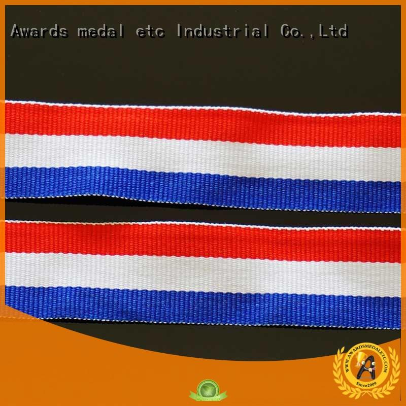 Awards Medal polyester custom printed lanyards practical packaging for DIY