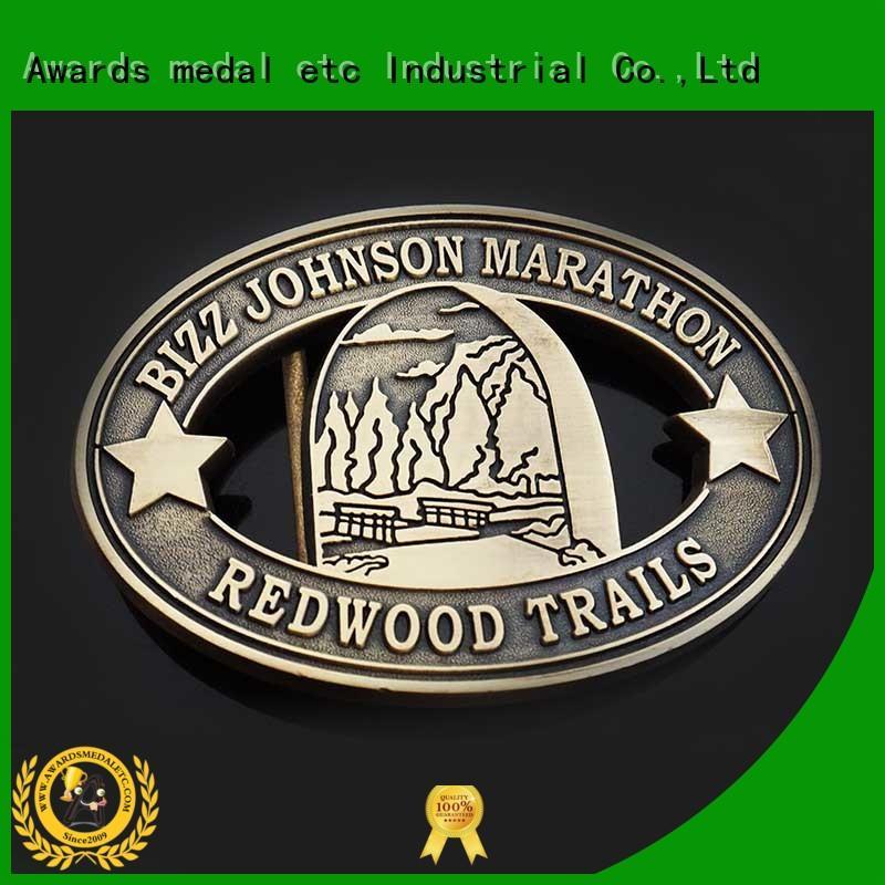 Awards Medal design belt buckle manufacturers design for wholesale