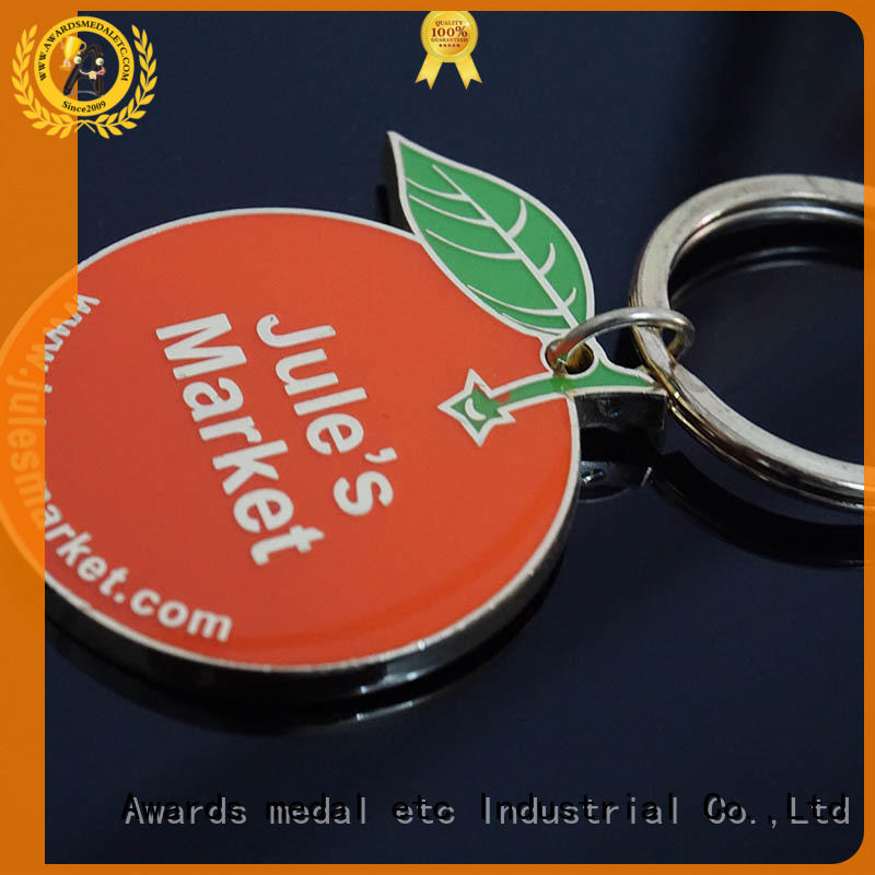 Awards Medal latest metal keychain trade cooperation for wholesale