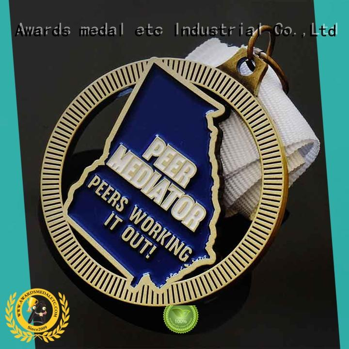 fashion custom medal sublimated bulk production for events
