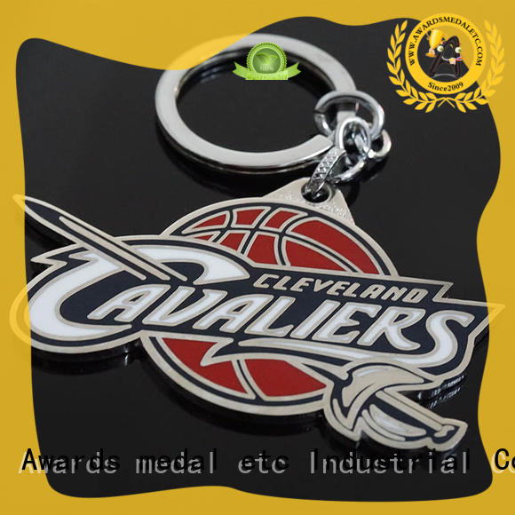 Awards Medal car metal key chains win-win cooperation for wholesale