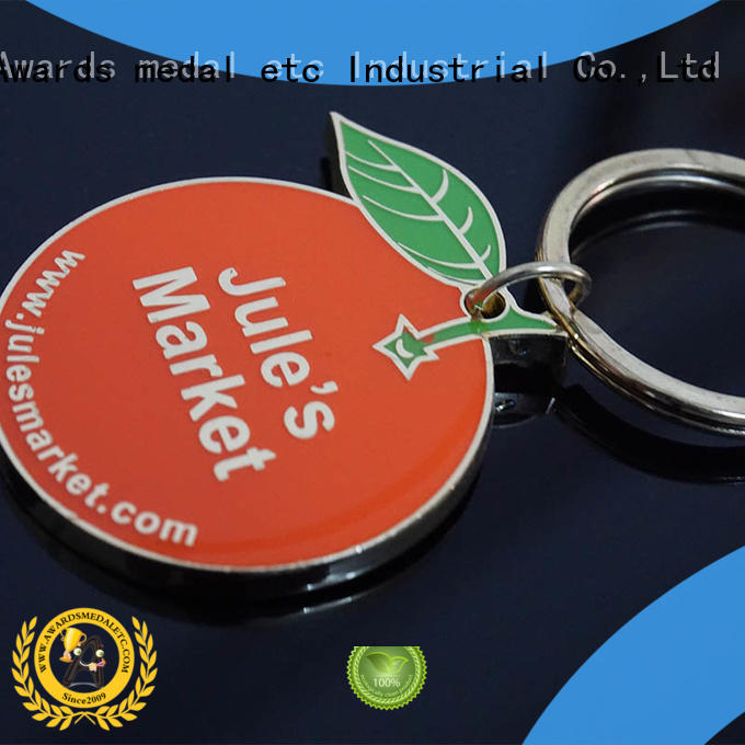 Awards Medal latest custom metal keychains win-win cooperation for wholesale