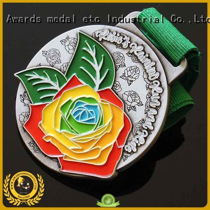 Awards Medal gold custom medallions overseas market for souvenir