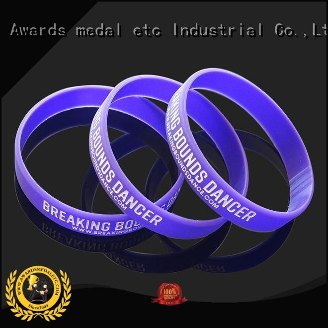Awards Medal commercial custom silicone wristbands innovative product for kids