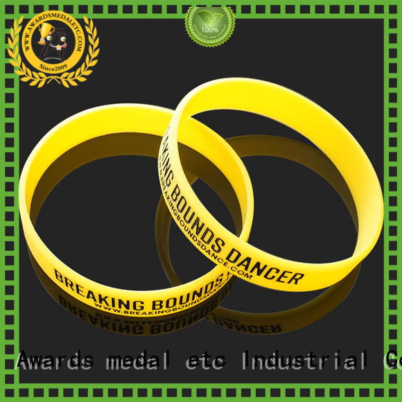 premium quality custom silicone wristbands logo trader for event