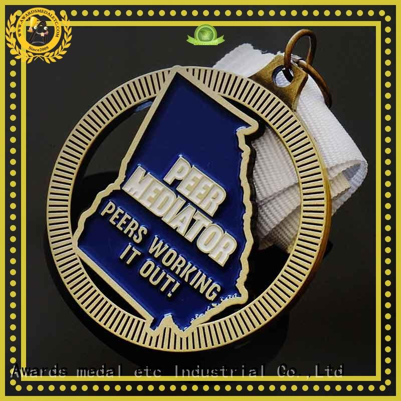 originality custom medal die bulk production for events