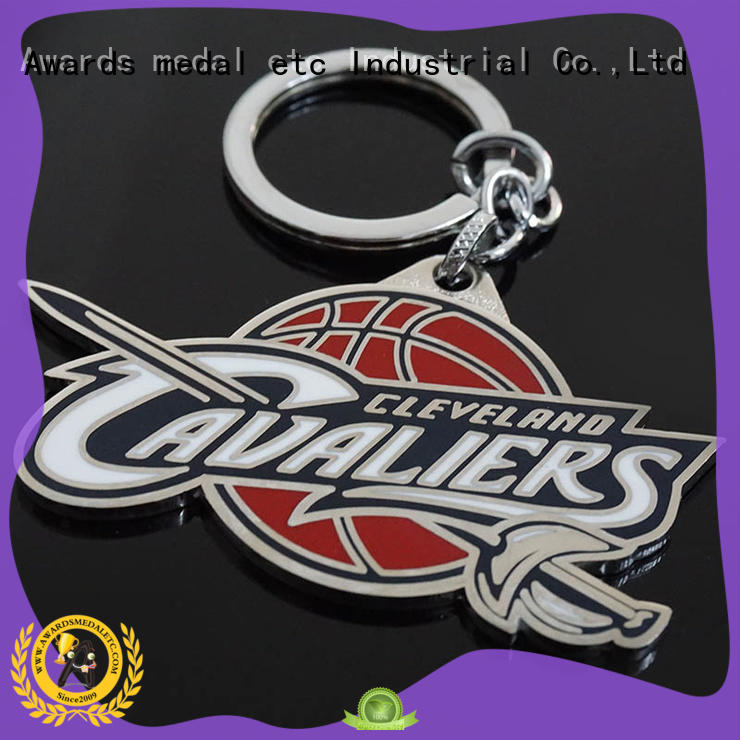 Awards Medal inexpensive custom metal keychains win-win cooperation for gift