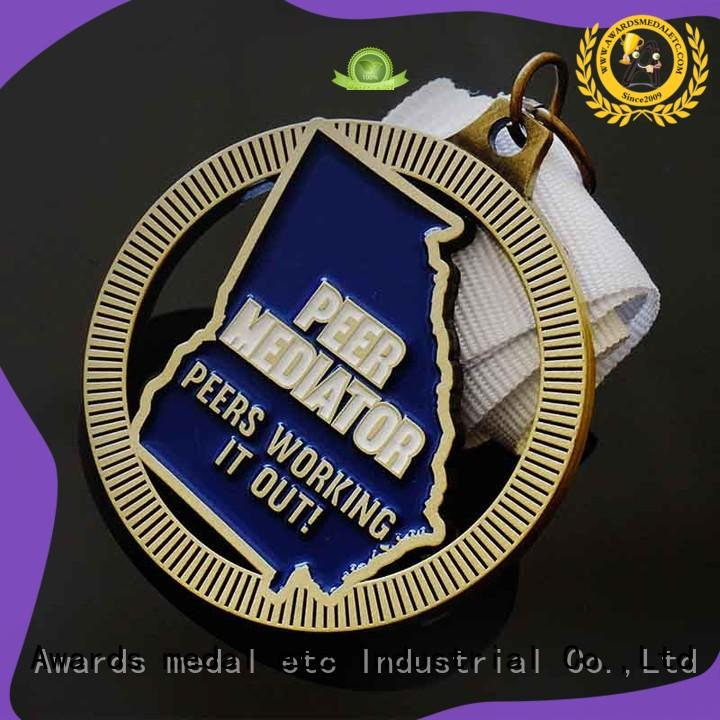 Awards Medal style custom made medals customized for souvenir