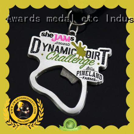 Awards Medal fashion metal bottle opener overseas market for events