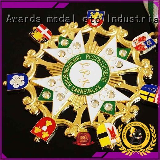 Awards Medal or carnavals medailles design for wholesale