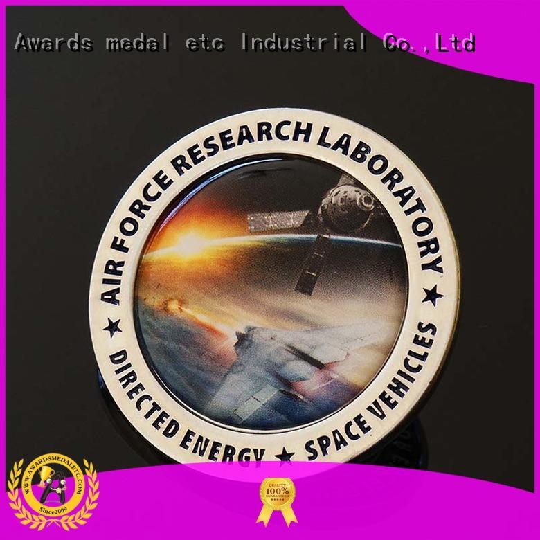 Awards Medal 3d custom challenge coins manufacturer for sale