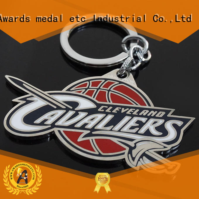 latest metal key chains promotional trade cooperation for wholesale