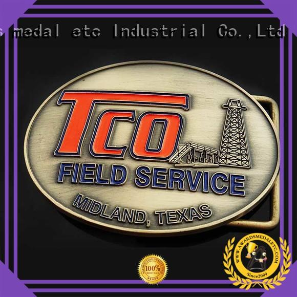 Awards Medal low-cost belt buckle manufacturers personalized for wholesale