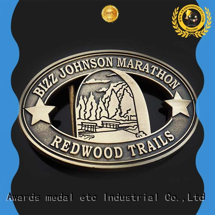 Awards Medal low-cost custom belt buckles your for sale