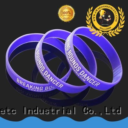 Awards Medal no custom silicone bracelets export worldwide for event