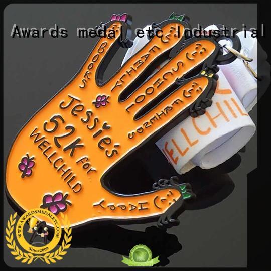 Awards Medal soft custom sports medals supplier for sale