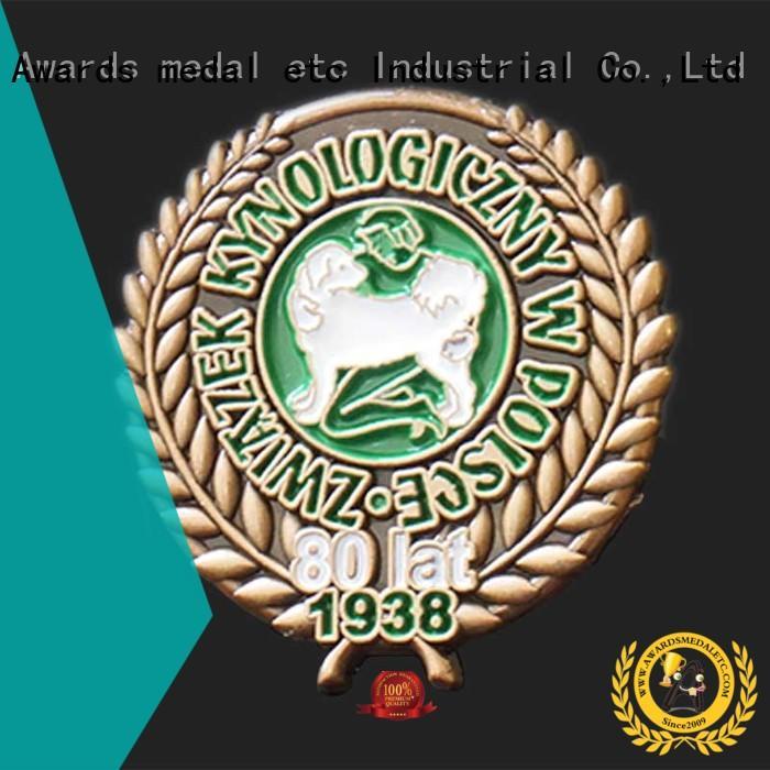 Awards Medal 100% quality enamel pins maker enamel for gift
