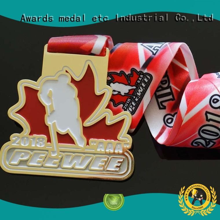 Awards Medal sublimated custom medallion awards supplier for award