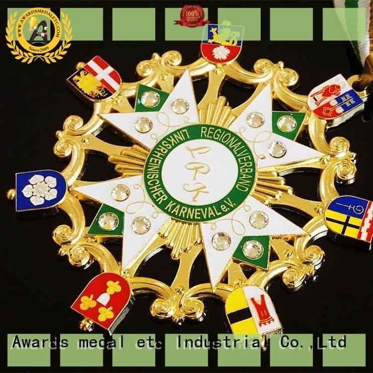 Awards Medal hot orden kaufen ribbon for wholesale