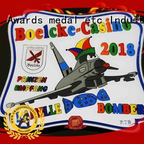 Awards Medal own carnavals medailles design for importer