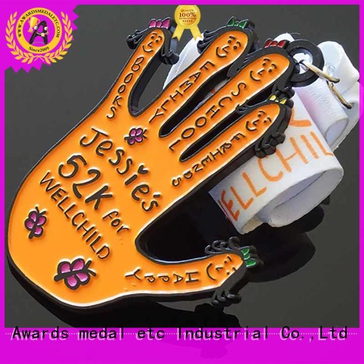 customized sports medallion enamel supplier for award