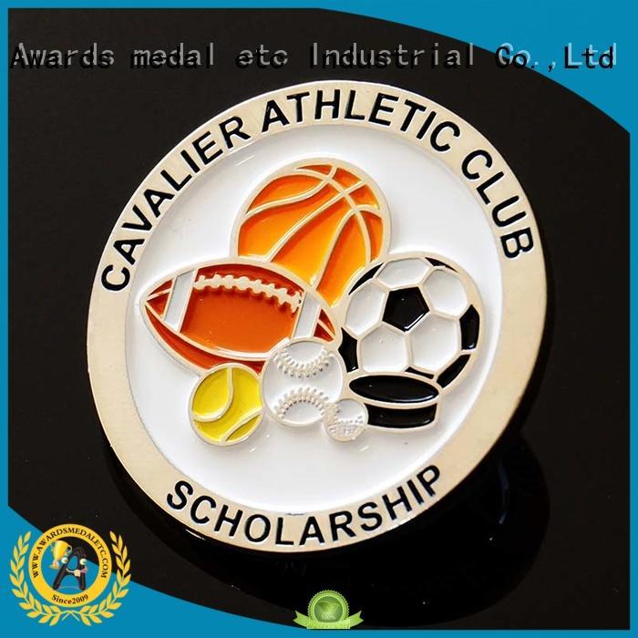 Awards Medal fine workmanship custom challenge coins manufacturer for souvenir