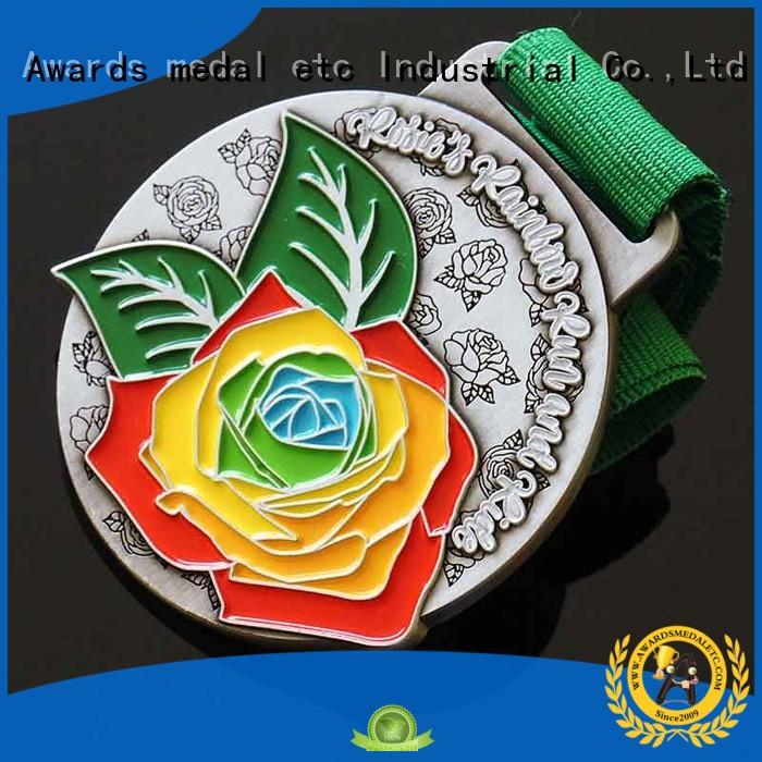 Awards Medal white custom made medallions customized for gifts