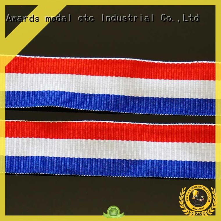 Awards Medal neck printed lanyards convenient packaging for DIY