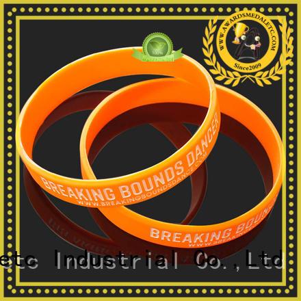Awards Medal premium quality silicone wristbands trader for event