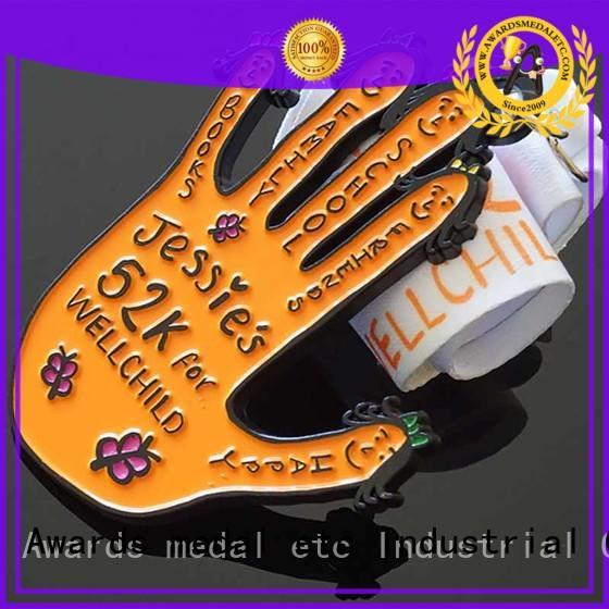 new sports medallion marathon factory for award