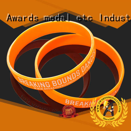 Awards Medal cost-effective custom silicone bracelets innovative product for event