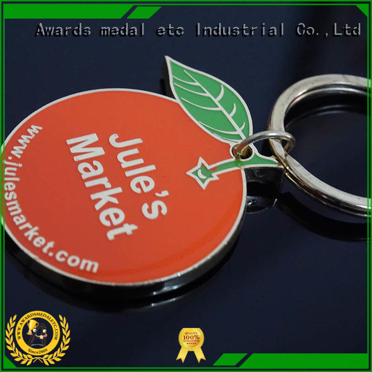 good quality metal key chains basketball trade cooperation for promotion