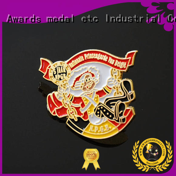 Awards Medal 100% quality custom pin badges looking for buyer for souvenir