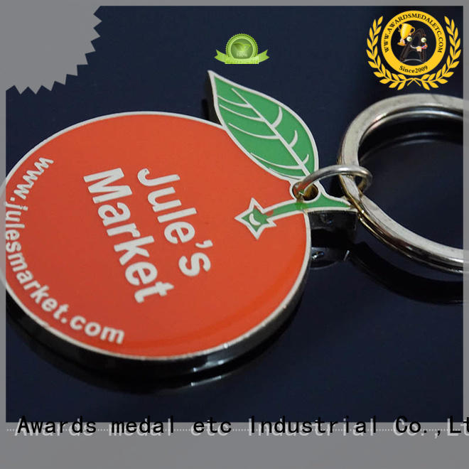 Awards Medal or metal keychain trade cooperation for promotion