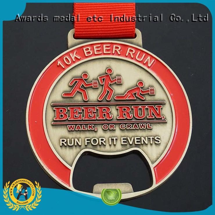 Awards Medal China metal bottle opener supplier for souvenir