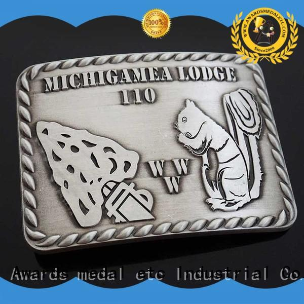 Awards Medal China belt buckle manufacturers high reliability‎ for mass-market