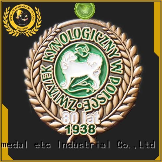 Awards Medal pin lapel pin badges overseas trader for souvenir