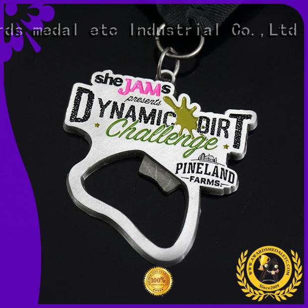 Awards Medal fashion custom beer bottle opener customized for gifts