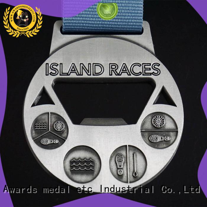Awards Medal fashion custom beer bottle opener supplier for events