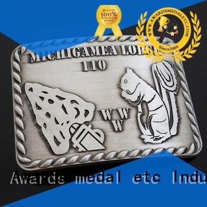 customized custom made belt buckles oem high reliability for wholesale