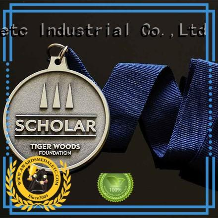 most popular bespoke medals zinc supplier for gifts
