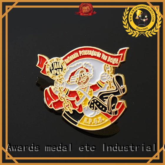 economical custom pin badges lapel producer for garment