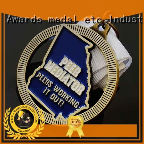 Awards Medal sublimated custom medal customized for gifts