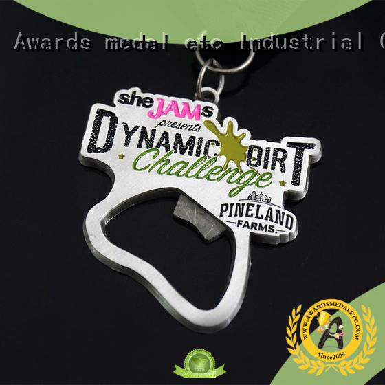 Awards Medal fashion beer bottle opener supplier for souvenir
