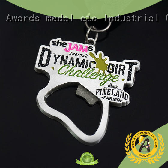 Awards Medal fashion beer bottle opener supplier for souvenir