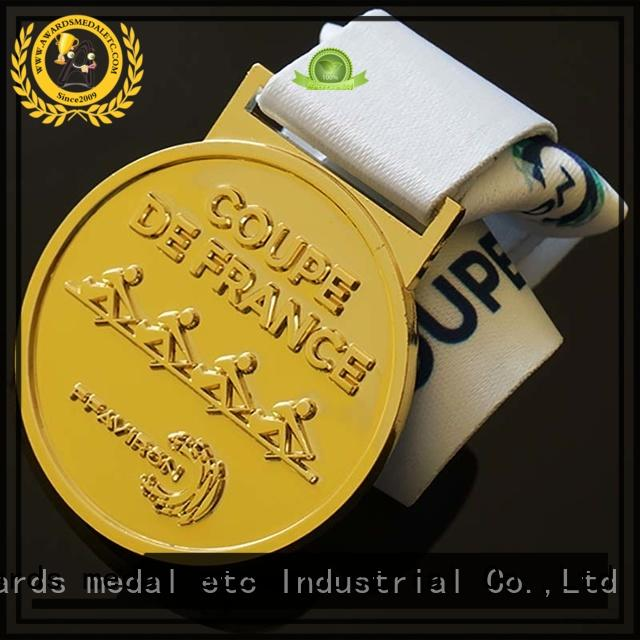 low-price sports medal metal factory for sale
